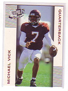 2001 Press Pass SE #1 Michael Vick