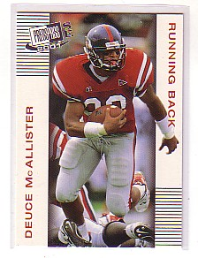 2001 Press Pass SE #12 Deuce McAllister