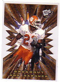 2001 Press Pass Breakout #B21 Rod Gardner