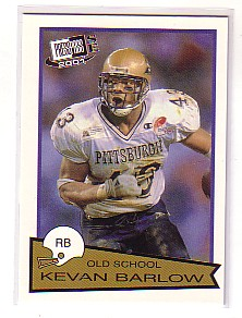2001 Press Pass SE Old School #OS11 Kevan Barlow