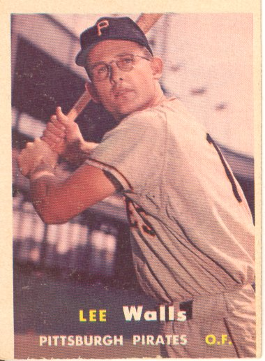 1957 Topps #52 Lee Walls