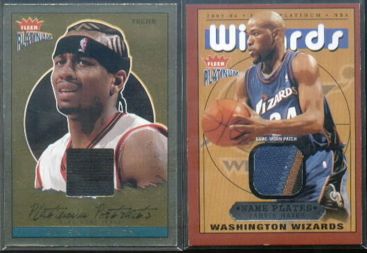 2003-04 Fleer Platinum Nameplates #JH Jarvis Hayes/375