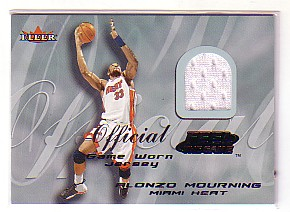 2000-01 Fleer Feel the Game #23 Alonzo Mourning