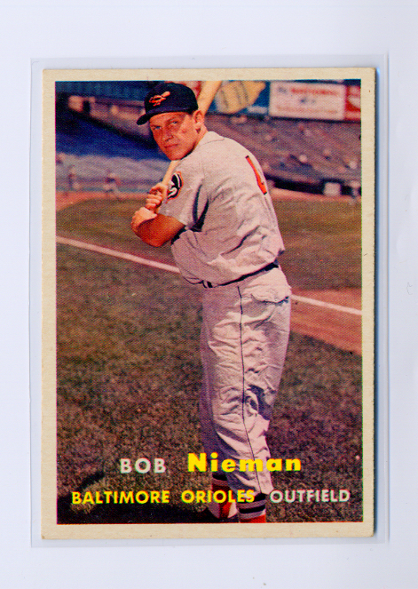 1957 Topps #14 Bob Nieman