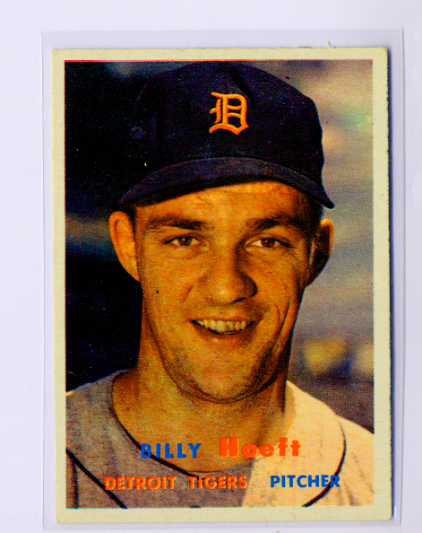 1957 Topps #60 Billy Hoeft