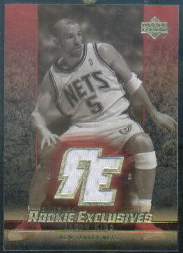 2003-04 Upper Deck Rookie Exclusives Jerseys Variation #J55 Jason Kidd