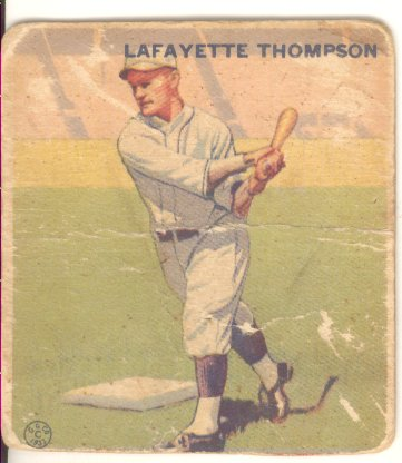 1933 Goudey #13 Fresco Thompson RC