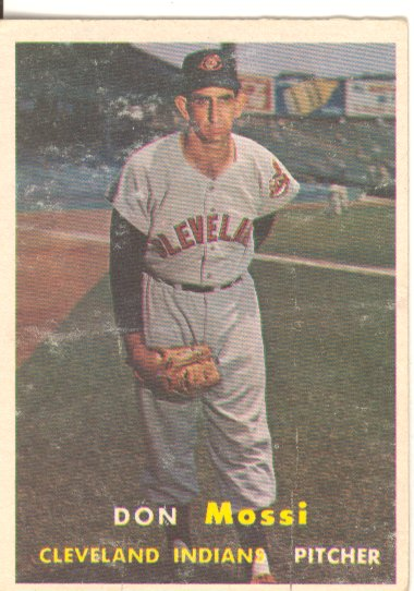 1957 Topps #8 Don Mossi