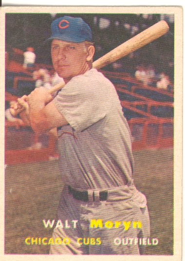 1957 Topps #16 Walt Moryn