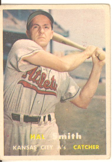 1957 Topps #41 Hal W. Smith