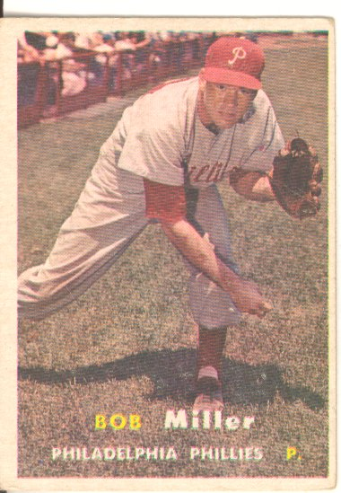 1957 Topps #46 Robert J. Miller