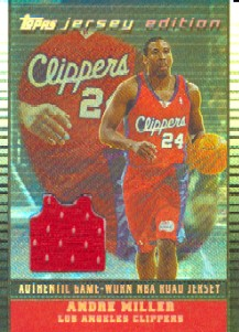 2002-03 Topps Jersey Edition Black #JEALM Andre Miller R