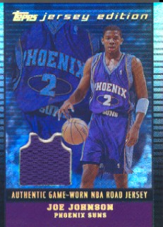 2002-03 Topps Jersey Edition Black #JEJMJ Joe Johnson R