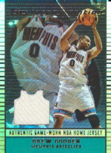 2002-03 Topps Jersey Edition Copper #JEDGO Drew Gooden H