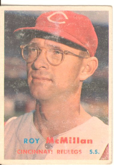 1957 Topps #69 Roy McMillan