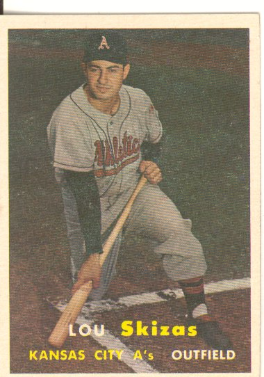 1957 Topps #83 Lou Skizas RC