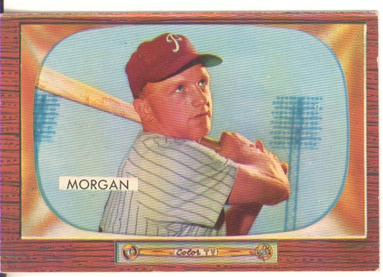 1955 Bowman #81 Bobby Morgan
