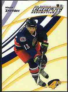 2003-04 BAP Memorabilia Draft Redemptions #4 Nikolai Zherdev/100