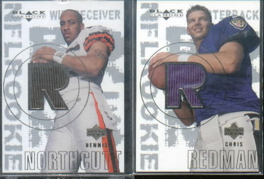 2000 Black Diamond #154 Chris Redman JSY RC