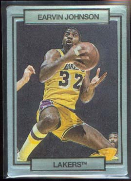 1990 Action Packed Promos * #2 Magic Johnson