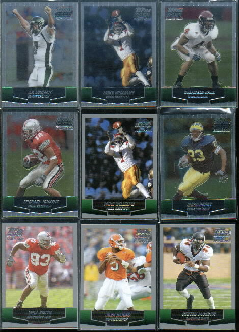 2004 Topps Draft Picks and Prospects Chrome #114 DeAngelo Hall