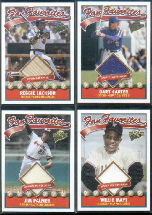 2004 Topps All-Time Fan Favorites Relics #WM Willie Mays Uni