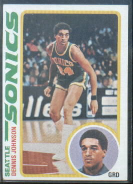 1978-79 Topps #78 Dennis Johnson RC