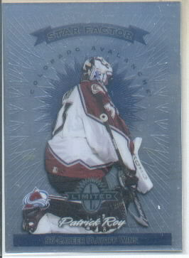 1997-98 Donruss Limited #198 Patrick Roy S
