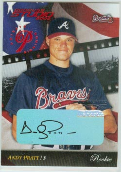 2002 Studio Private Signings #268 Andy Pratt ROO/250