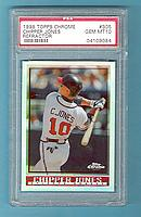 1998 Topps Chrome Refractors #305 Chipper Jones