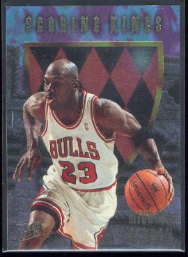 1995-96 Ultra Scoring Kings #4 Michael Jordan
