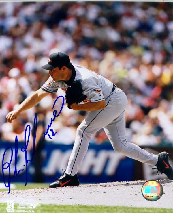 Calvin Maduro Autographed 8 x 10 Photo