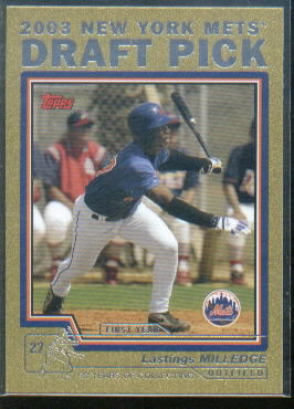 2004 Topps Gold #680 Lastings Milledge DP