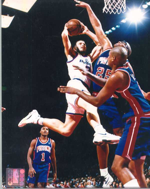 Rex Chapman 8 x 10 Color Photo