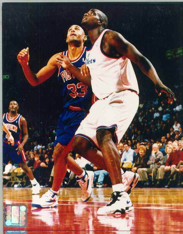 Chris Webber Color 8 x 10 Photo with Grant Hill