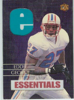 1997 Talkin' Sports Essentials * #E7 Eddie George