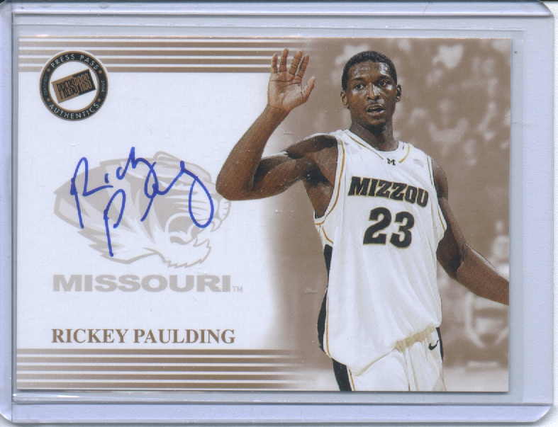 2004 Press Pass Autographs #24 Rickey Paulding