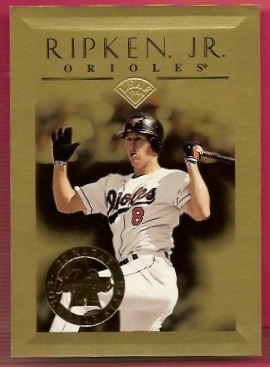 1996 Leaf Gold Stars #8 Cal Ripken
