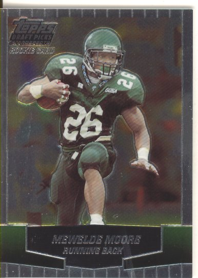 2004 Topps Draft Picks and Prospects Chrome #121 Mewelde Moore
