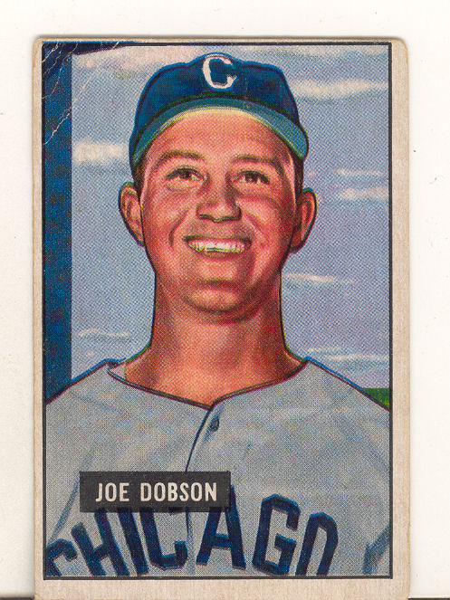 1951 Bowman #36 Joe Dobson