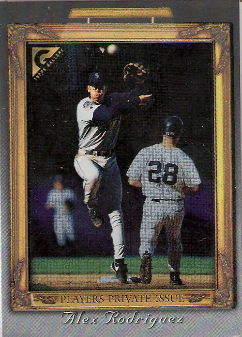 1998 Topps Gallery Player's Private Issue #125 Alex Rodriguez