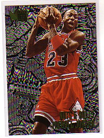 1995-96 Metal #212 Michael Jordan NB