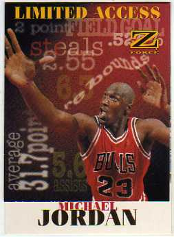 1997-98 Z-Force Limited Access #6 Michael Jordan