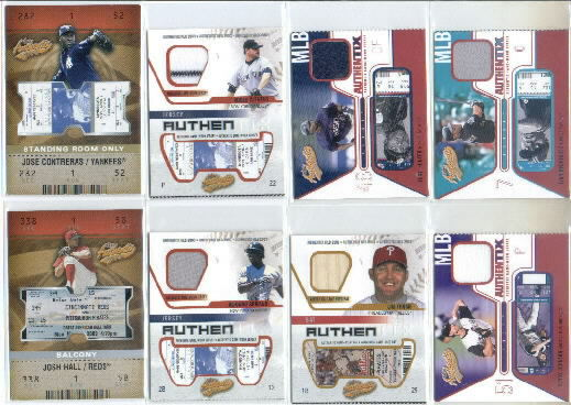 2003 Fleer Authentix Balcony #112 Josh Hall TM