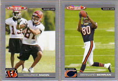 2004 Topps Total Silver #360 Bernard Berrian