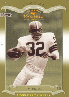 2003 Donruss Classics Timeless Tributes #125 Jim Brown