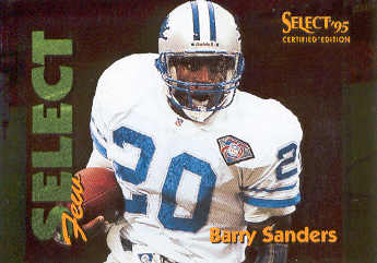 1995 Select Certified Select Few 1028 #4 Barry Sanders