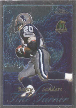 1996 Topps Chrome Tide Turners #TT14 Barry Sanders
