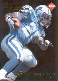 1998 Collector's Edge First Place Successors #22 Barry Sanders