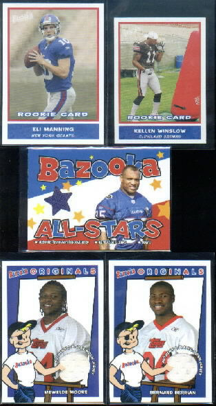 2004 Bazooka Originals Jerseys #BOBB Bernard Berrian